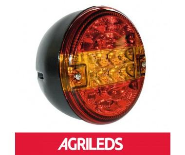 LED Achterlicht 3 functies Hamburger