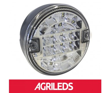 LED Achteruitrijlicht Rond