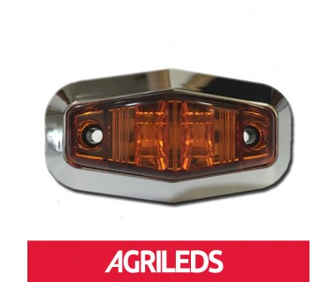 Sierrand Chroom voor LED Markeringslicht Ruitvorm