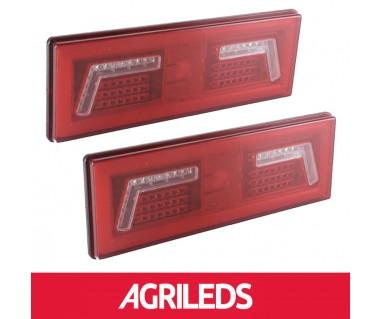 LED Achterlicht Set 5 functies