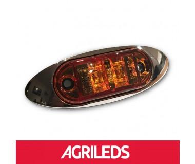 Sierrand Chroom voor LED Markeringslicht