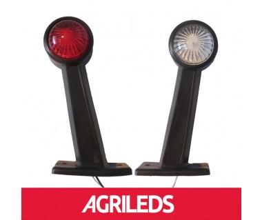 Set LED Ronde Pendel Breedtelampen