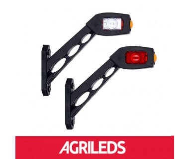 Set LED Breedte Markering Pendel Lampen